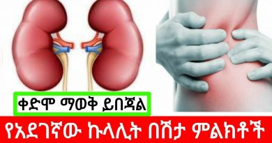 Symptoms of malignant kidney disease